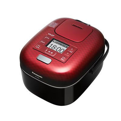 パナソニック 可変圧力IHジャー炊飯器 3合炊き (豊穣ブラック) (SRJX058K) SR-JX058-K