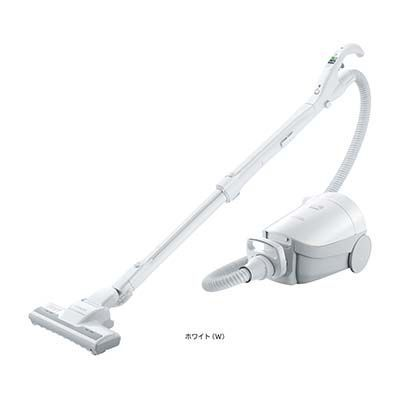 日立 かるパック 紙パック式掃除機 (ホワイト) CV-PF100-W