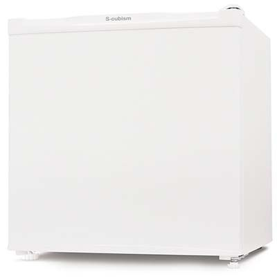 エスキュービズム 1ドア冷蔵庫 46L (ホワイト) R-46WH