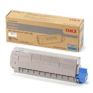 その他 (業務用3セット) 【純正品】 OKI TC-C4DC2 トナーカートリッジ シアン 大 ds-2081971