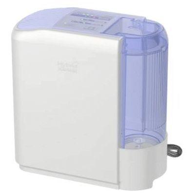 ダイニチ 清潔感のあるホワイト基調のデザイン。ハイブリッド式加湿器HDシリーズ(ラベンダー) HD-300E-V