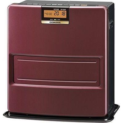 コロナ エコモードも搭載。W消臭、足元温風で快適。石油ファンヒーター VXシリーズ FH-VX3618BY-T