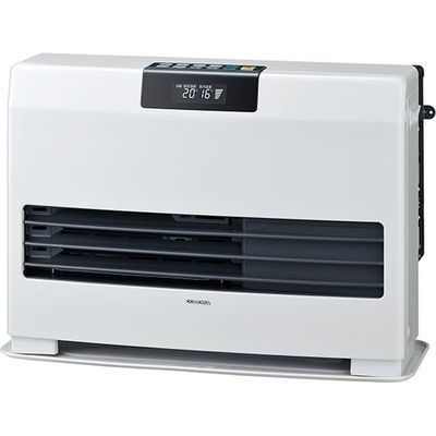 コロナ FF温風式暖房機 WGシリーズ ビルトインタイプ<別置タンク式(別売)>【木造17畳/コンクリート27畳】 FF-WG65SA-W