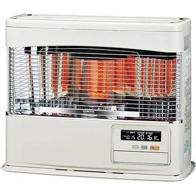 コロナ 使いやすさと快適暖房を両立。FF式輻射 PRシリーズ<別置タンク式(別売)>【木造18畳/コンクリート28畳】 FF-6818PR-W