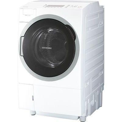 東芝 ドラム式洗濯乾燥機 (洗濯12.0kg /乾燥7.0kg・左開き) (グランホワイト) TW-127V7L-W【納期目安:3週間】