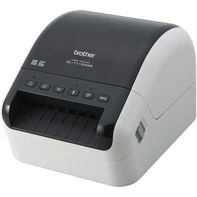 ブラザー 感熱ラベルプリンター(300dpi/無線・有線LAN/Bluetooth/USB)QL-1115NWB QL-1115NWB【納期目安:1週間】