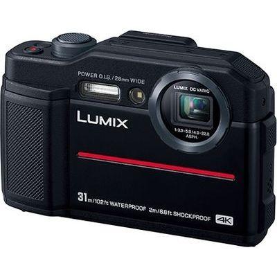 パナソニック デジタルカメラ 約2110万画素 ルミックス (ブラック) DC-FT7-K【納期目安:2週間】