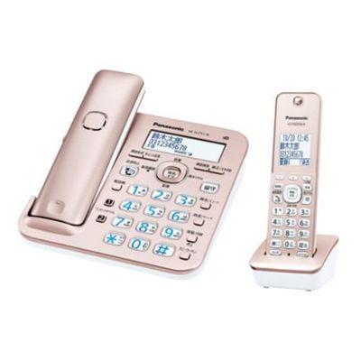 パナソニック デジタルコードレス電話機(子機1台付き) ピンクゴールド VE-GZ51DL-N【納期目安:1ヶ月】