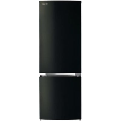東芝 2ドア冷蔵庫(170L・右開き) メタリックブラック GR-P17BS-K