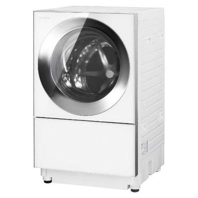 パナソニック ななめドラム式洗濯乾燥機 「Cuble(キューブル)」 (洗濯10.0kg /乾燥5.0kg・左開き) シルバーステンレス NA-VG1300L-S【納期目安:3週間】