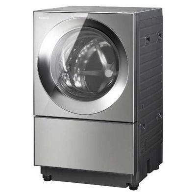 パナソニック ななめドラム式洗濯乾燥機 「Cuble(キューブル)」 (洗濯10.0kg /乾燥5.0kg・左開き) プレミアムステンレス NA-VG2300L-X【納期目安:3週間】