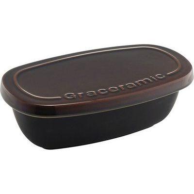 その他 【12個セット】GC-03 グレイスラミック 陶製おひつ 1.5合 4972940150199