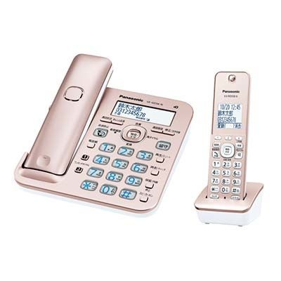 パナソニック RU・RU・RU コードレス電話機 (子機1台付き) (ピンクゴールド) VE-GD56DL-N【納期目安:04/中旬入荷予定】