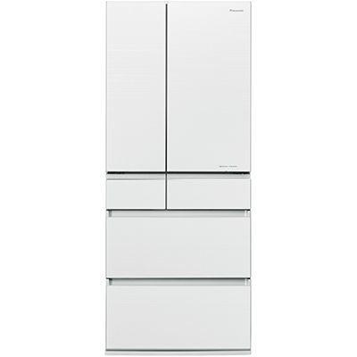 パナソニック 650L 6ドア フレンチドア冷蔵庫 (マチュアホワイト) NR-F654HPX-W