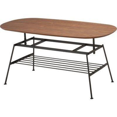市場(Marche) anthem Adjustable Table (ブラウン) ANT-2734-BR