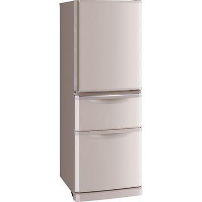 三菱電機 335L コンパクト薄型タイプ 冷蔵庫 (シャンパンピンク) MR-C34D-P