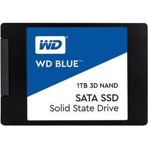 その他 WESTERN DIGITAL(SSD) WD Blue 3D NANDシリーズ SSD 1TB SATA 6Gb/s 2.5インチ 7mmcased 国内正規代理店品 ds-2092586