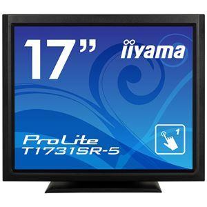 その他 iiyama 17型タッチパネル液晶ディスプレイ ProLite T1731SR-5(抵抗膜方式/USB通信/シングルタッチ/防塵防滴/D-SUB/HDMI/DP) ブラック ds-2092772
