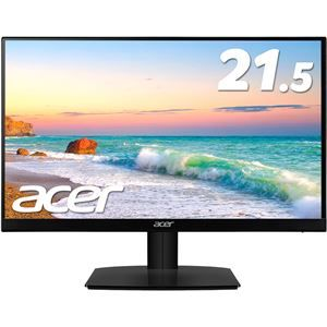 その他 Acer 21.5型ワイド液晶ディスプレイ HA220Qbi(IPS/非光沢/1920x1080/16:9/250cd/m^2/100000000:1/4ms/ブラック/ミニD-Sub15ピン・HDMI) ds-2092837
