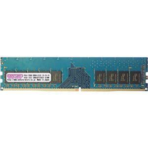 その他 センチュリーマイクロ サーバー/WS用 PC4-17000/DDR4-2133 4GB 288-pinUnbuffered DIMM ECC付 1.2v 日本製 1rank ds-2093016
