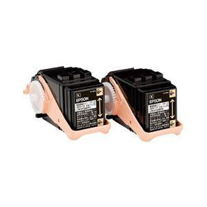 その他 エプソン LP-S6160用 環境推進トナー/ブラック/Mサイズ2本パック(4100ページ×2本) ds-2093571