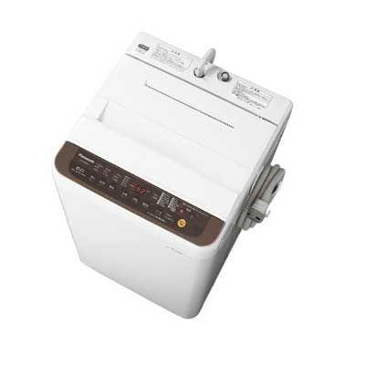 パナソニック 「つけおきコース」搭載全自動洗濯機【洗濯6kg】【バスポンプ内臓】 (ブラウン) (NAF60PB12T) NA-F60PB12-T