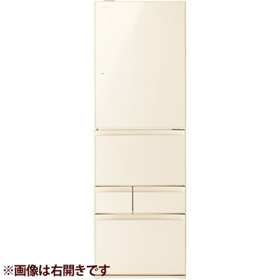 東芝 411L 右開き5ドア冷蔵庫 (ラピスアイボリー) GR-P41GXV-ZC【納期目安:11/下旬発売予定】