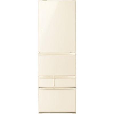 東芝 411L 左開き5ドア冷蔵庫 (ラピスアイボリー) GR-P41GXVL-ZC【納期目安:3週間】