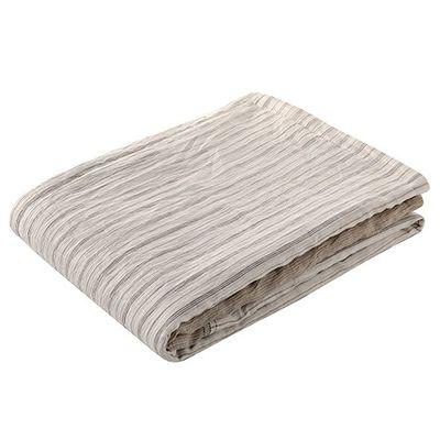 西川産業 肌掛け布団 シングル 洗える 麻 速乾 吸湿 しなやか竹素材 ベージュ AE08502046BE 1枚入 4976008630333【納期目安:2週間】