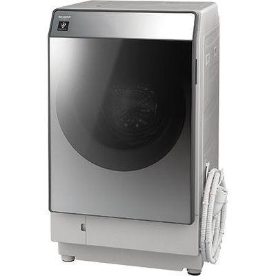 シャープ ドラム式洗濯乾燥機(洗濯11.0kg/乾燥 6.0kg・左開き) シルバー系 ES-W111-SL【納期目安:2週間】