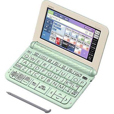 カシオ計算機 カシオ 電子辞書 エクスワード XD-Z4800GN グリーン 1台 4549526605475【納期目安:2週間】