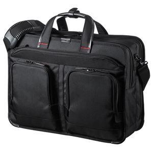 その他 サンワサプライ エグゼクティブビジネスバッグPRO(大型ダブル) BAG-EXE9 ds-2100275
