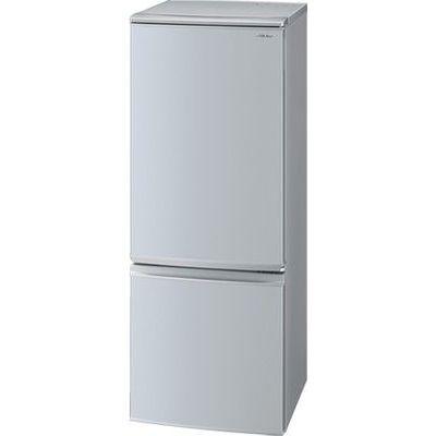 シャープ 167LL 冷蔵庫 ドア開閉左右付替 2ドア(シルバー系) SJ-D17E-S【納期目安:約10営業日】