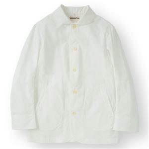 その他 男性コックジャケットカツラギ ホワイト 3Lサイズ KMJ2780-1 ds-2095275