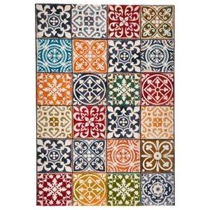 その他 モダン ラグマット/絨毯 【モロッカン柄 140cm×200cm】 長方形 スペイン製 ウィルトン 『PANDRA』【代引不可】 ds-2113351