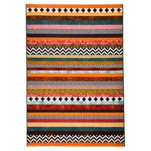 その他 モダン ラグマット/絨毯 【ボーダー柄 160cm×230cm】 長方形 スペイン製 ウィルトン 『PANDRA』 ds-2113355