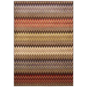 その他 トルコ製 ラグマット/絨毯 【シェブロン柄 200cm×250cm】 長方形 ウィルトンラグ 『AURA オーラ』 〔リビング〕 ds-2113370