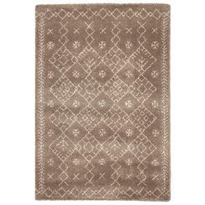 その他 民族調 ラグマット/絨毯 【160cm×230cm ブラウン】 長方形 ウィルトン 『ROYAL NOMADIC ロイヤルノマディック モロッコ』【代引不可】 ds-2113399