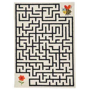 その他 ウィルトン織 ラグマット/絨毯 【メイズ】 120cm×170cm 長方形 ベルギー製 『SWING』 〔リビング〕【代引不可】 ds-2113426