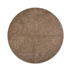 その他 抗菌防臭 ラグマット/絨毯 【160R ブラウン】 円形 日本製 折りたたみ 防ダニ ホットカーペット 通年可 『デタント』 ds-2113505