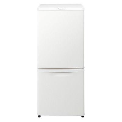 パナソニック 138L 2ドア冷蔵庫 (マットバニラホワイト) NR-B14BW-W