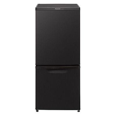 パナソニック 138L 2ドア冷蔵庫 (マットビターブラウン) NR-B14BW-T