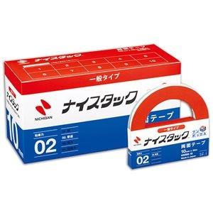 その他 ニチバン ナイスタック 再生紙両面テープブンボックス 大巻 10mm×20m NWBB-10 1セット(120巻:12巻×10パック) ds-2113908