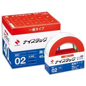 その他 ニチバン ナイスタック 再生紙両面テープブンボックス 大巻 40mm×20m NWBB-40 1セット(30巻:3巻×10パック) ds-2113910