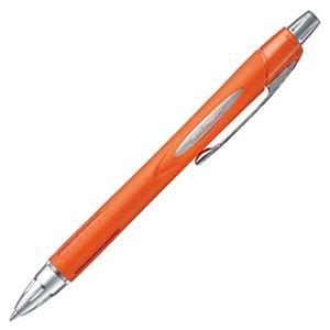 その他 (まとめ) 三菱鉛筆 油性ボールペンジェットストリーム 0.7mm 黒 (軸色 メタリックオレンジ) SXN25007M.4 1本 【×30セット】 ds-2114271