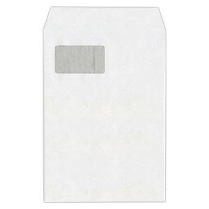 その他 ハート 透けない封筒 ケント グラシン窓テープ付 A4 XEP730 1セット(500枚:100枚×5パック) ds-2114837