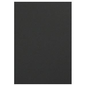 その他 (まとめ) TANOSEE 色画用紙 四つ切こいくろ 1パック(10枚) 【×30セット】 ds-2116877