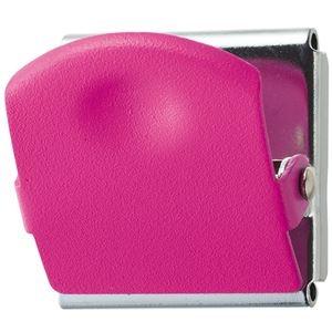 その他 (まとめ) TANOSEE 超強力マグネットクリップM ピンク 1個 【×30セット】 ds-2117925