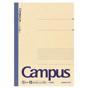 その他 (まとめ) コクヨ 再生紙キャンパスノート(中横罫)セミB5 B罫 50枚 ノ-E5BN 1セット(10冊) 【×5セット】 ds-2119687