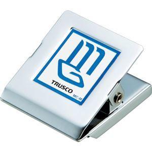その他 (まとめ) TRUSCO マグネット金属クリップ46×51 MC-L 1個 【×30セット】 ds-2121930